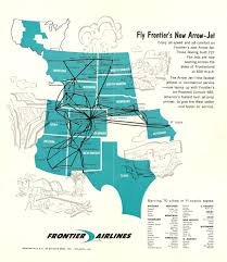 Frontier Flight Map Frontier Airlines Monarch Air Lines 1