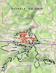 Middle Tn Map Long C Trails Horseback Riding Trails Tennessee U0026 Kentucky