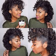 Styles To Wear While Transitioning To Natural Hair - a fro hawk to die for http community blackhairinformation com