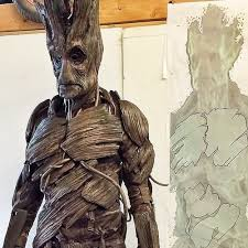 groot costume guardians of the galaxy character inspires real