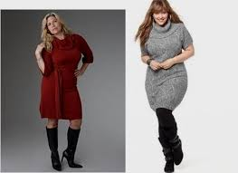plus sweater dress plus size sweater dress with boots 2016 2017 b2b fashion