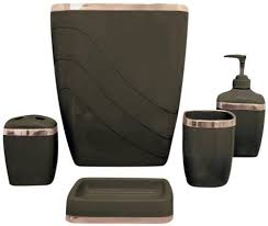 Brown Bathroom Accessories by 34 Best Bathroom Accessories Sets Images On Pinterest Bathroom
