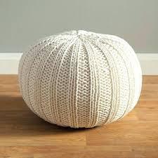 knitted pouf ottoman target target pouf ottoman intuitivewellness co