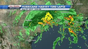 Weather Map Texas Time Lapse Hurricane Harvey U0027s Destructive Path Through Texas