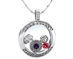 high school class necklaces class locket