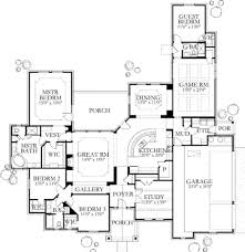 contemporary style house plan 4 beds 3 baths 3137 sq ft plan 80