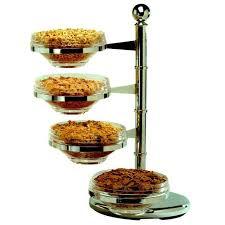 gilberts buffet display revolving bowls 4 0 x 20 0cm clear