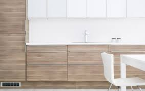 cuisine ikea faktum abstrakt gris faktum kitchen with sofielund light grey walnut effect doors drawers