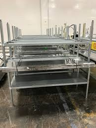 Used Stainless Steel Tables by All Equipment For Sale Inc Quality Used Manufacturing