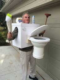 Toilet Halloween Costume Winner Funniest Halloween Costume Contest Wgrf Fm