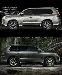 lexus lx 570 2017 2016 lexus lx570 vs 2014 lexus lx570 old vs new