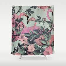 Flamingo Shower Curtains 49 Best Pink Flamingo Shower Curtain Images On Pinterest Curtain