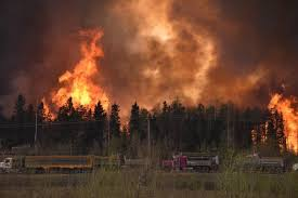Wildfire Yukon by Entire Alberta City Of Fort Mcmurray Evacuated Due To Raging