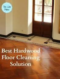 pin tested approved hardwood floor cleaning solution for