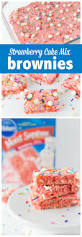 Pillsbury Halloween Cake Mix Strawberry Cake Mix Brownies Made To Be A Momma