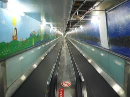 crushed by escalator domain carpark