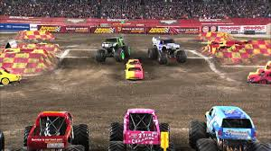 youtube monster trucks racing monster jam monster energy vs lucas oil crusader monster truck