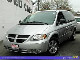 2007 dodge grand caravan sxt in bright silver metallic 127066