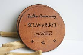 leather anniversary gifts for him anniversary gift