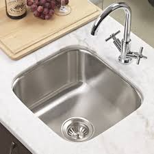 Kitchen Prep Sink by Houzer Ms 1708 1 Club Series Undermount Stainless Steel Square
