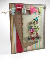 i u0027m a little teapot happy zombie birthday card