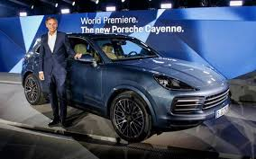 porsche suv in india porsche unveils third generation cayenne suv upcoming launches