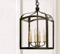 Pottery Barn Lantern Chandelier Lantern Light For Foyer With 9 Foot Ceiling