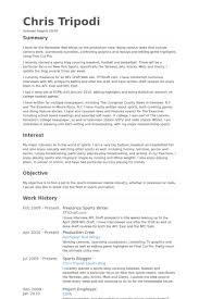 Highlights On A Resume Sports Writer Resume Samples Visualcv Resume Samples Database