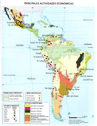 America Latina Map by El Mundo Hispanohablante Lessons Tes Teach