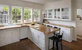 white kitchen cabinets with butcher block countertops brilliant butcher block counter with remodeling 101 countertops