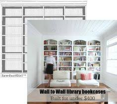 In Wall Bookshelves by Dawn U0027s House Diy Library Shelving House Room And Shelves