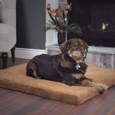 Foam Dog Bed Petmaker Orthopedic Super Foam Pet Bed Clay Walmart Com