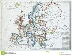 Old Map Of Europe by Old Map Of Europe Stock Photos Image 13262873