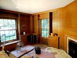 Painting Over Paneling by Download Wallpapering Over Wood Paneling Gallery