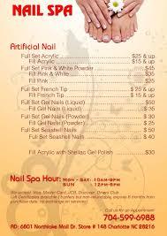 nail spa northlake mall home facebook