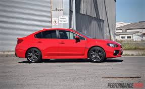 subaru legacy 2016 red 2016 subaru wrx review manual u0026 cvt auto video performancedrive