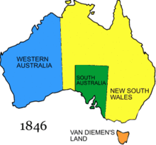 history of australia 1788 1850