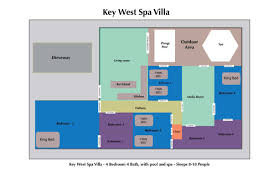 key west spa villa 4 bedroom nightly vacation rental