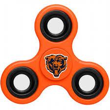 Chicago Bears Chicago Bears 3 Way Fidget Spinner E20