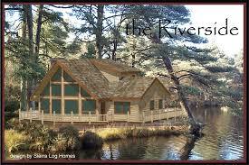 Sierra Log Homes Cabins Home Floor Plans Cabin Plan Montana