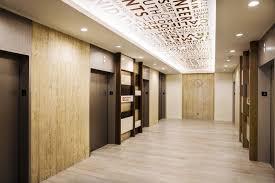 Elevator Lobby Lighting ELEVATOR LOBBY AND INTERIOR CAB INTERIOR - Lobby interior design ideas