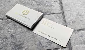 los angeles foil stamp business card printing foil stamp