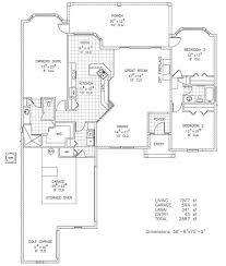 Custom Home Plan Windpark Iii Custom Home Floor Plan Palm Coast Fl