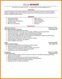 Electrician Resume Examples Electrician Resume Free Resumes Tips