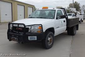 electric pickup truck 2005 gmc sierra 3500 flatbed pickup truck item da6502 so