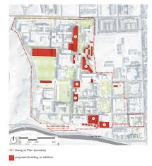 Notre Dame Campus Map Georgetown University U0027s Revised 20 Year Campus Plan Revealed