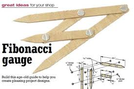 Woodworking Project Plans Pdf by 31 Md 00522 Fibonacci Gauge And How To Use It Woodworking Plan