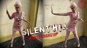 silent hill nurse makeup cosplay makeup youtube