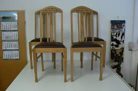 Antique Oak Dining Room Sets German Antique Oak Dining Chairs Set Of 4 For Sale At Pamono