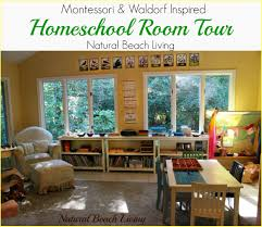 Beach Living Room by Montessori U0026 Waldorf Inspired Homeschool Room Natural Beach Living